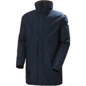 Helly Hansen Dubliner Insulated Long Jacket Men, blauw